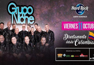 """""""Viva la salsa"""" con el Grupo Niche en Hard Rock Live"""